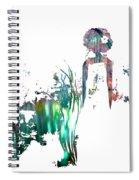 Aurora Mist Spiral Notebook