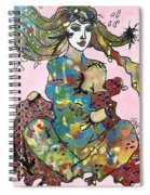 Aurora Of The Borealis  Spiral Notebook