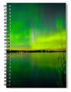 Aurora Reflection Spiral Notebook