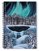 Aurora's Fiery Display Spiral Notebook