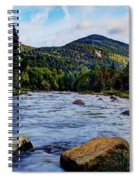 Ausable And Whiteface Spiral Notebook