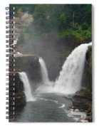 Ausable Chasm Waterfalls Spiral Notebook