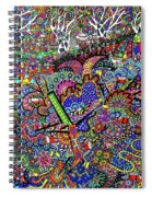 Aussie Culture Spiral Notebook