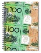 Aussie Dollars 09 Spiral Notebook