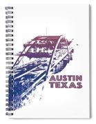 Austin 360 Bridge, Texas Spiral Notebook