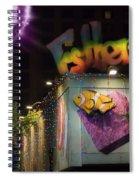 Austin 6th St - Pecan St Spiral Notebook