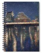 Austin At Night Spiral Notebook