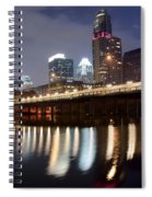 Austin From Below Spiral Notebook