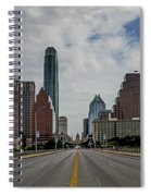 Austin From Congress Street Bridge Spiral Notebook
