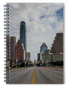 Austin From Congress Street Bridge Spiral Notebook