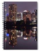 Austin Lights Up Lady Bird Lake Spiral Notebook