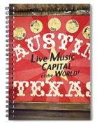 Austin Live Music Spiral Notebook