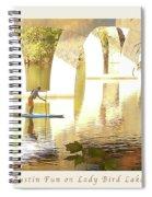 Austin Texas - Lady Bird Lake - Mid November Three - Greeting Card Spiral Notebook