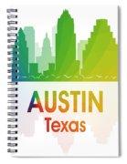 Austin Tx Spiral Notebook