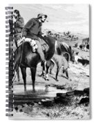 Australia: Cowboys, 1864 Spiral Notebook
