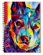 Australian Cattle Dog Spiral Notebook