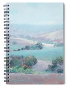 Australian Country Landscape Painting Spiral Notebook