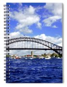 Australian Day Is A Party Day On Sydney Harbour  Spiral Notebook