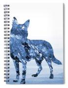 Australian Kelpie-blue Spiral Notebook