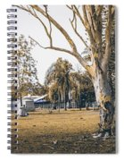 Australian Rural Countryside Landscape Spiral Notebook