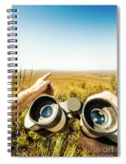 Australian Safari Spiral Notebook