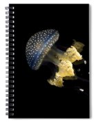 Australian Spotted Jellyfish Spiral Notebook