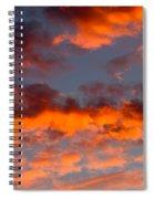 Australian Sunset Spiral Notebook