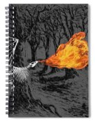Australopithecus And The Dragon Spiral Notebook
