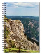 Austrian Alps Spiral Notebook