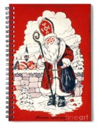 Austrian Christmas Card Spiral Notebook
