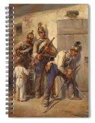 Austrian Dragoons Spiral Notebook