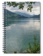 Austrian Lake Spiral Notebook