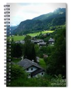 Austrian Landscape Spiral Notebook