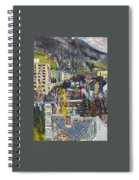Auta A Vlak-cviceni Okamziku Spiral Notebook