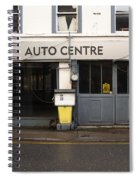 Auto Centre Spiral Notebook
