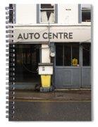 Auto Centre Spiral Notebook