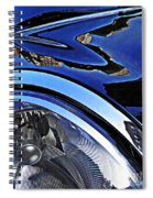 Auto Headlight 27 Spiral Notebook