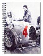Auto Union C Type V16 B Rosenmeyer Spiral Notebook