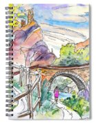 Autol In La Rioja Spain 02 Spiral Notebook