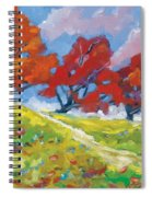 Automn Trees Spiral Notebook
