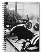 Automobile Manufacturing Spiral Notebook