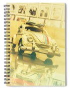Automotive Memorabilia Spiral Notebook