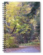 Autum Colors Spiral Notebook