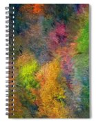 Autum Hillside Spiral Notebook