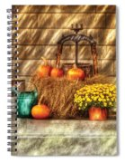 Autumn - Pumpkin - A Still Life With Pumpkins Spiral Notebook