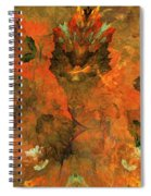 Autumn Abstract 103101 Spiral Notebook
