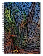 Autumn Abstraction Spiral Notebook