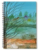 Autumn Afternoon Spiral Notebook
