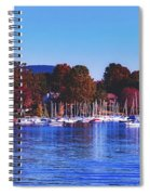 Autumn Along Lake Candlewood - Connecticut Spiral Notebook