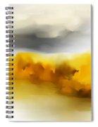 Autumn Along The River Spiral Notebook